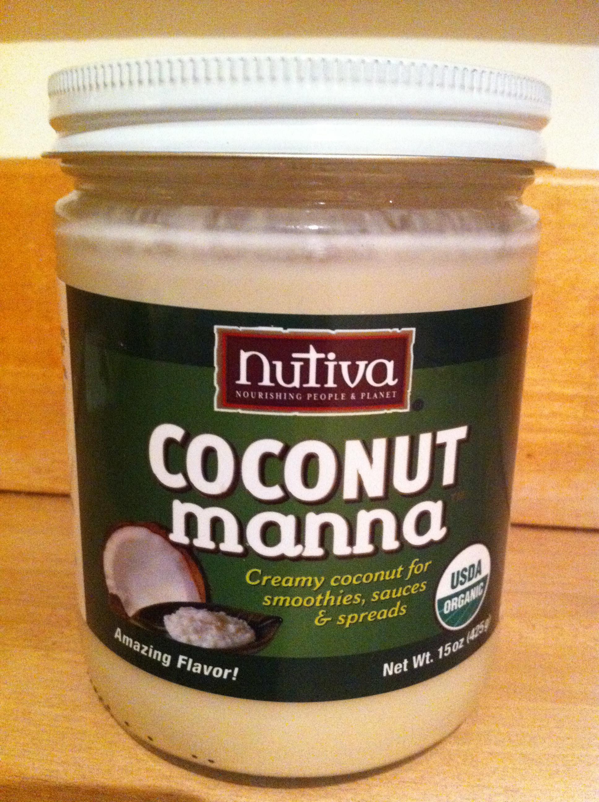 Coconut manna for hair